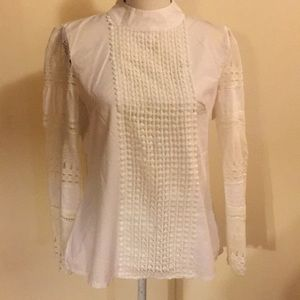 Lacy ethnic blouse